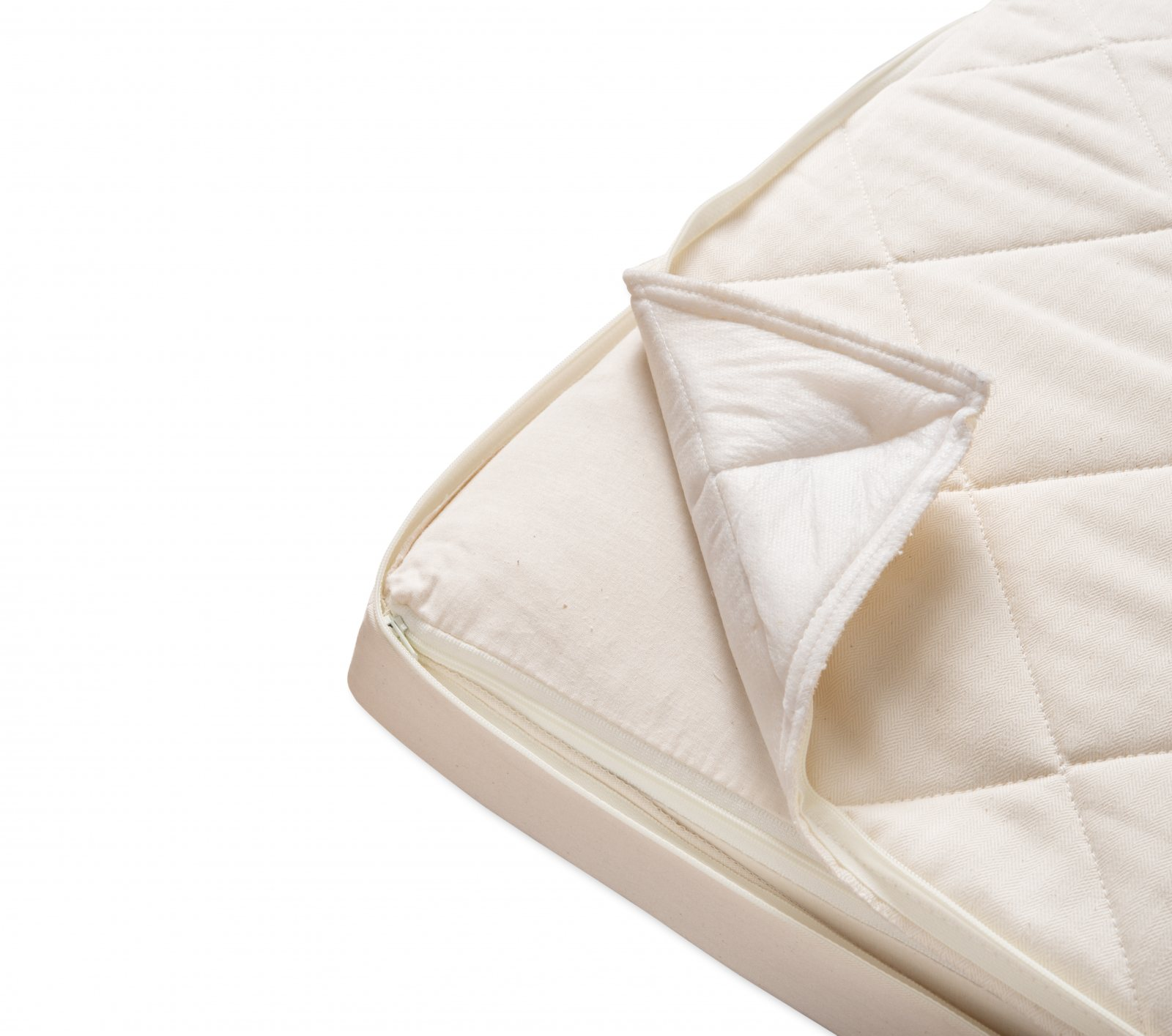 Quilted Coco Mat Twin Naturalmat Usa